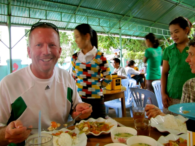 Bob's Lunch in Myanmar