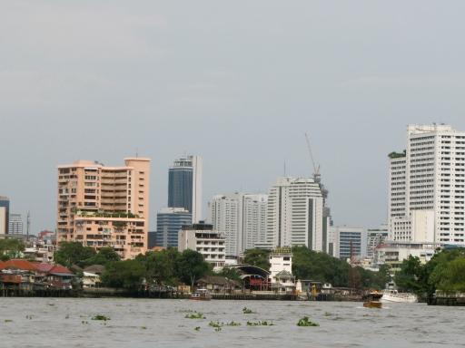 chao praya skyline