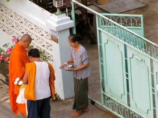 monk visit