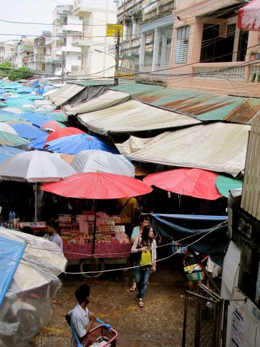 Myanmar market top