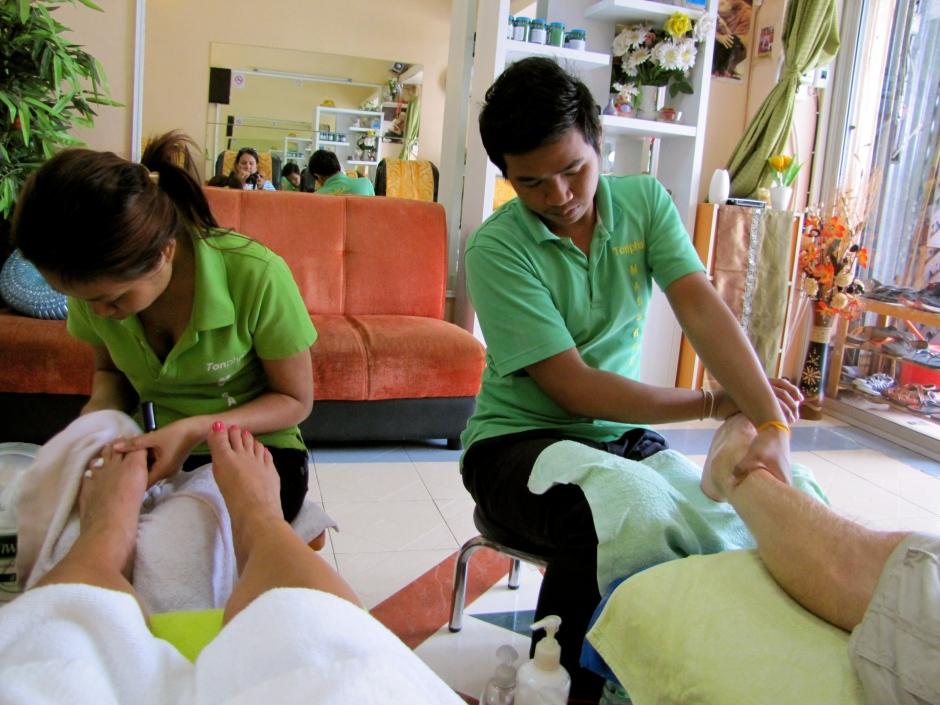 pedi:massage