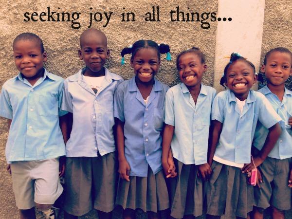 seeking joy