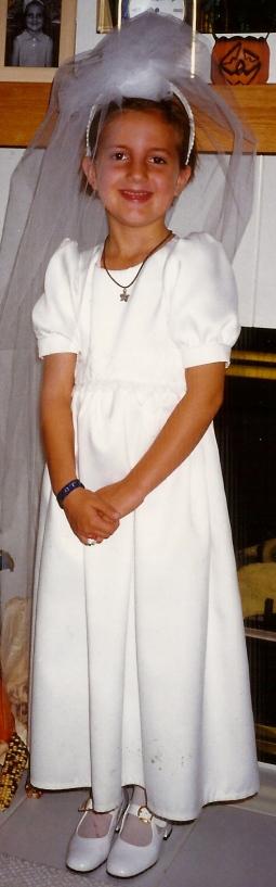 bride at age 6