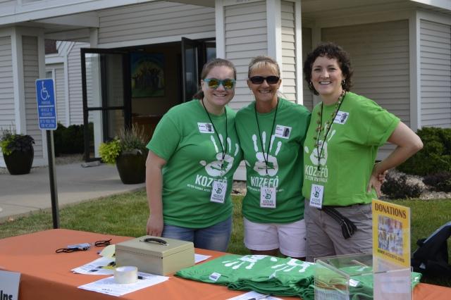 5K Coordinator Doreen and Volunteers