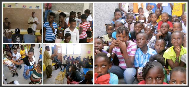 Parent Meeting - Bible Distribution