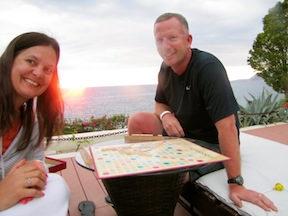 Sunset Scrabble