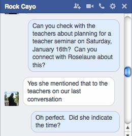FB Director Rock