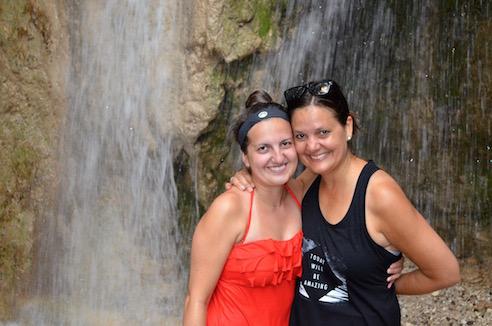 Mama Daughter waterfall