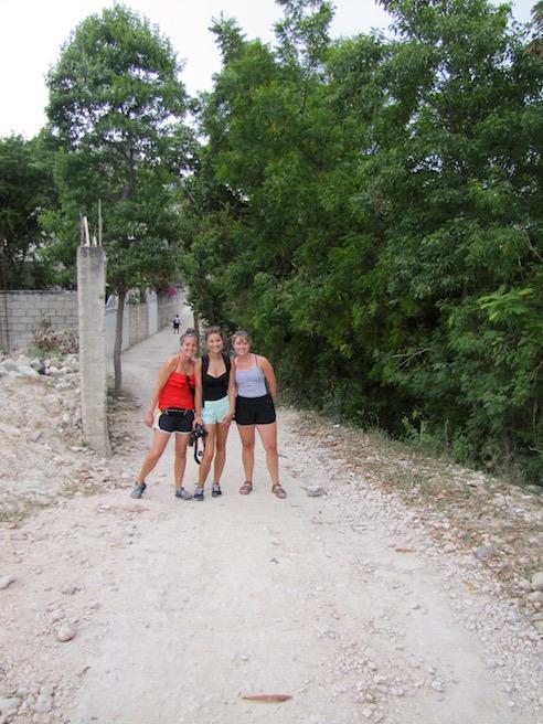 Neighborhood walk girls